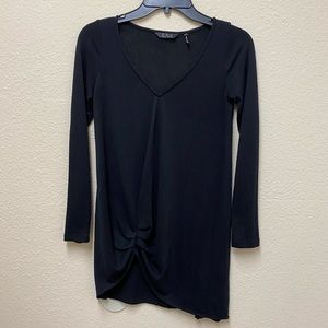 Anthropologie ZOA Blouse in Black Size Small VGUC